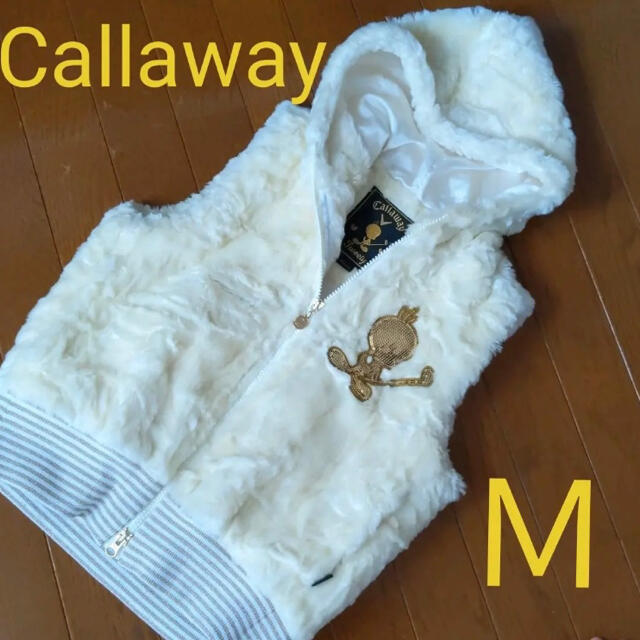 Callaway Golf(キャロウェイゴルフ)のキャロウェイ レディース ゴルフベスト Mサイズ スポーツ/アウトドアのゴルフ(ウエア)の商品写真