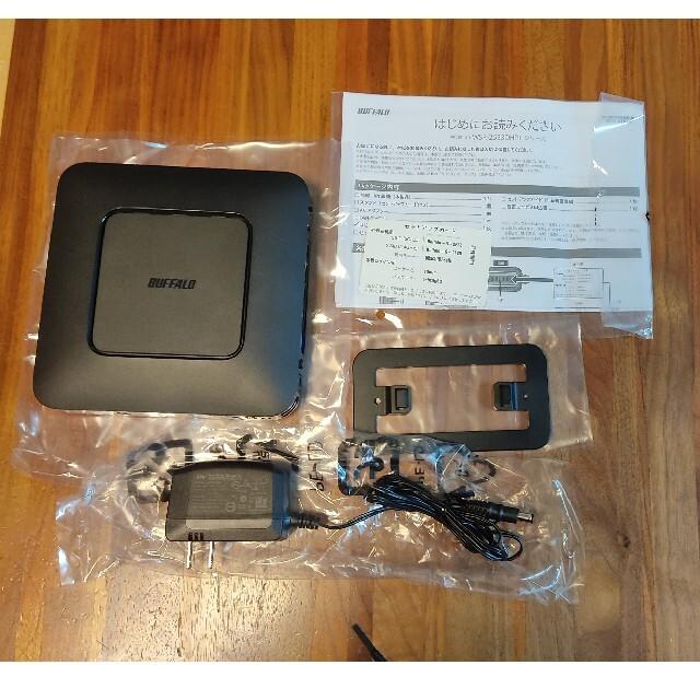 Buffalo(バッファロー)のBUFFALO WSR-2533DHPL 無線 Wi-Fi ルーター スマホ/家電/カメラのPC/タブレット(PC周辺機器)の商品写真