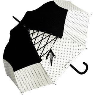 シャンタルトーマス(Chantal Thomass)のChantal Thomass 雨傘/日傘 レースアップ CT198(ドット)(傘)