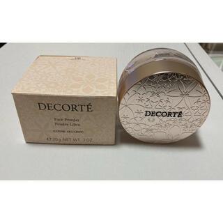 コスメデコルテ(COSME DECORTE)のコスメデコルテフェイスパウダー 80 glow pink(フェイスパウダー)