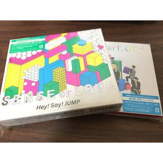 ヘイセイジャンプ(Hey! Say! JUMP)のSENSE or LOVE アルバム2枚(ポップス/ロック(邦楽))