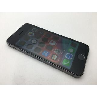 アップル(Apple)の557 au iPhone5s A1453 スペースグレイ 16GB◆美品◆ (スマートフォン本体)