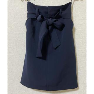 アストリアオディール(ASTORIA ODIER)のアストリア ネイビー(紺) タイトスカート(ひざ丈スカート)