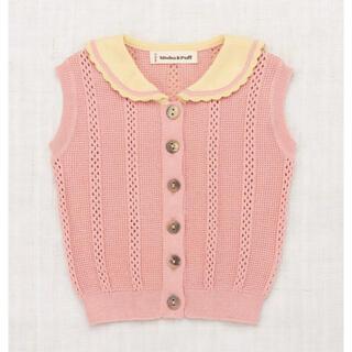 Misha&Puff☆Texture Scout Vest☆18-24(ニット/セーター)