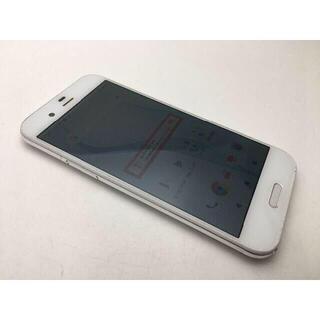 シャープ(SHARP)の496 SIMフリー美品 au AQUOS R SHV39 ホワイト (スマートフォン本体)
