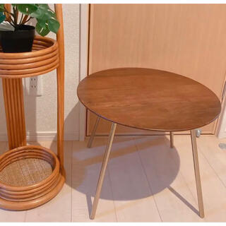 ザラホーム(ZARA HOME)の新品 ZARA HOME コーヒーテーブル ゴールド脚 インテリア アンティーク(コーヒーテーブル/サイドテーブル)