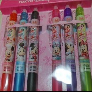 ディズニー(Disney)の定価以下!ディズニー♡ ミニー フリクション ボールペンセット(ペン/マーカー)