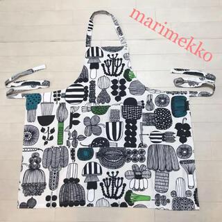 マリメッコ(marimekko)のmarimekko マリメッコ  エプロン(収納/キッチン雑貨)