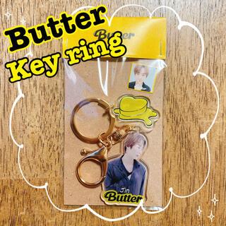 ボウダンショウネンダン(防弾少年団(BTS))のBTS   Butter   キーホルダー ジン JIN  チェキ(K-POP/アジア)
