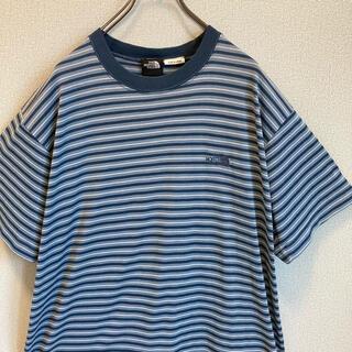 ザノースフェイス(THE NORTH FACE)の90s ノースフェイス リンガー ボーダー Tシャツ  ゆるだぼ(Tシャツ/カットソー(半袖/袖なし))