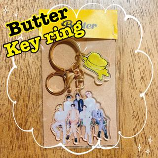 ボウダンショウネンダン(防弾少年団(BTS))のBTS   Butter   キーホルダー 7人 全員 オール チェキ(K-POP/アジア)