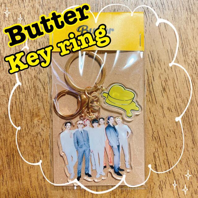 防弾少年団(BTS)(ボウダンショウネンダン)のBTS   Butter   キーホルダー 7人 全員 オール  チェキ エンタメ/ホビーのCD(K-POP/アジア)の商品写真