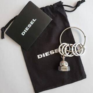 ディーゼル(DIESEL)の新品 DIESELキーリング 保存袋付き(キーホルダー)