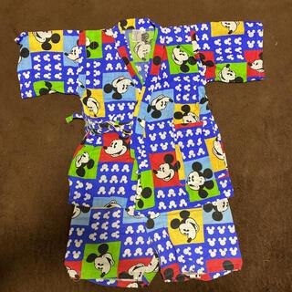 ディズニー(Disney)のディズニー ミッキー柄 カラフル甚平(甚平/浴衣)