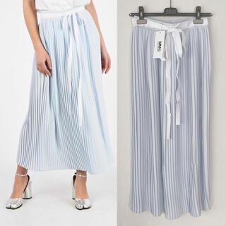 エムエムシックス(MM6)の【新品】MM6 MaisonMargiela  プリーツロングスカート(ロングスカート)
