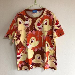 ディズニー(Disney)のディズニー チップ デール 半袖 Tシャツ 総柄(Tシャツ(半袖/袖なし))