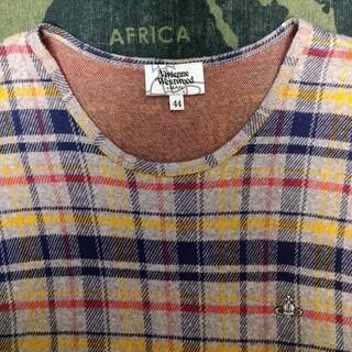 ヴィヴィアンウエストウッド(Vivienne Westwood)の特値下げヴィヴィアンウエストウッド(チェックカットソー)(Tシャツ/カットソー(半袖/袖なし))