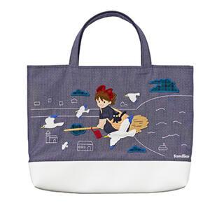 ファミリア(familiar)の新品 ファミリア ジブリ 魔女の宅急便のデニムバッグ(レッスンバッグ)