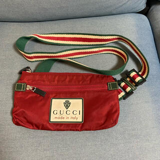 グッチ(Gucci)のグッチ ナイロン ボディバッグ 189663 ショルダーバッグ 美品(ショルダーバッグ)