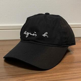 アニエスベー(agnes b.)の【新品】アニエスベー キャップ ブラック (キャップ)