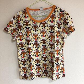ディズニー(Disney)のディズニー チップ デール 半袖 Tシャツ 総柄 ディズニーストア(Tシャツ(半袖/袖なし))
