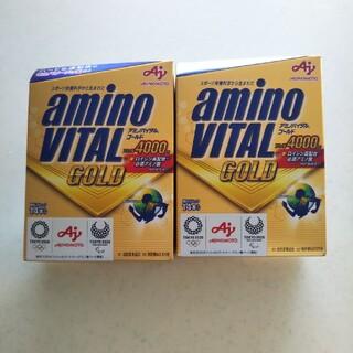アジノモト(味の素)のアミノバイタルゴールド 2セット(アミノ酸)