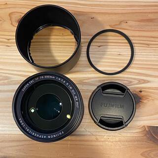 フジフイルム(富士フイルム)のXF70-300mmF4-5.6 保護フィルター付き(レンズ(ズーム))