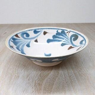 新品 美濃焼 唐草 大鉢 麺鉢(食器)