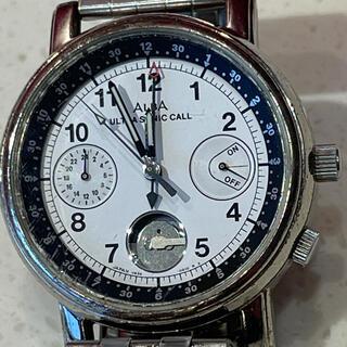 アルバ(ALBA)のSEIKO ALBA ultra sonic call 時計 ジャンク(腕時計(アナログ))