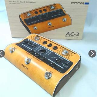 ズーム(Zoom)のzoom ac3 ズームAC3 アコースティックプリアンプ(エフェクター)