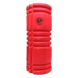 レッド:フォームローラー/筋膜リリースローラー/33cm(トレーニング用品)