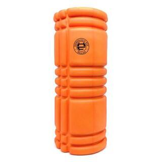 オレンジ:フォームローラー/筋膜リリースローラー/33cm(トレーニング用品)