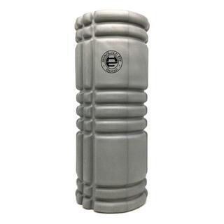 グレー:フォームローラー/筋膜リリースローラー/33cm(ヨガ)