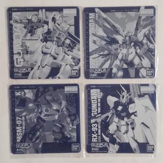 バンダイ(BANDAI)のガンダムマウスパット4枚セット(その他)