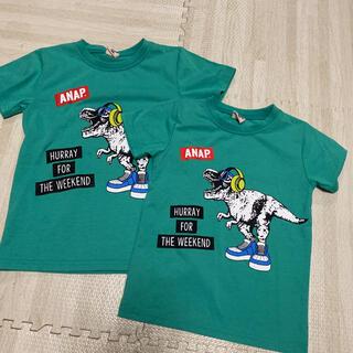 アナップキッズ(ANAP Kids)のアナップキッズ 兄弟 オソロ tシャツ(Tシャツ/カットソー)