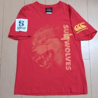 カンタベリー(CANTERBURY)のカンタベリー サンウルブズ コットンTシャツ&タオル(Tシャツ/カットソー(半袖/袖なし))