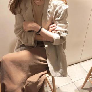 アメリヴィンテージ(Ameri VINTAGE)のruff linen jacket(テーラードジャケット)