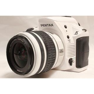 ペンタックス(PENTAX)のPENTAX K30 ホワイト,SMC DAL 18-55 セット★Wifi付(デジタル一眼)