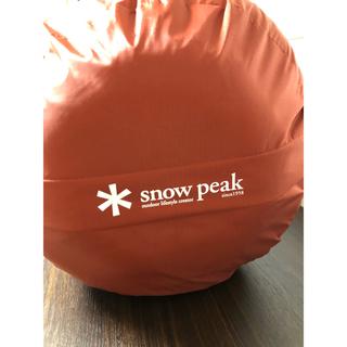 スノーピーク(Snow Peak)のセパレートシュラフ オフトンワイド [下限温度5度](寝袋/寝具)