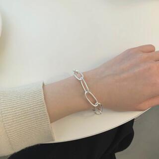 トゥデイフル(TODAYFUL)の1点限定 / Silver925_ Oval chain bracelet (ブレスレット/バングル)