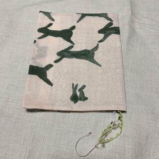 ミナペルホネン(mina perhonen)のブックカバー ハンドメイド 四六版 単行本 ミナペルホネン(ブックカバー)