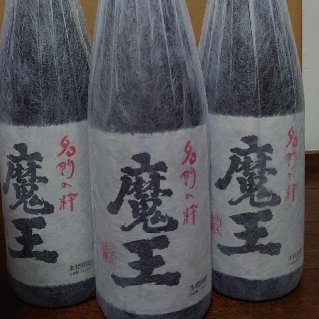 焼酎、魔王1升3本セットになります。 食品/飲料/酒の酒(焼酎)の商品写真