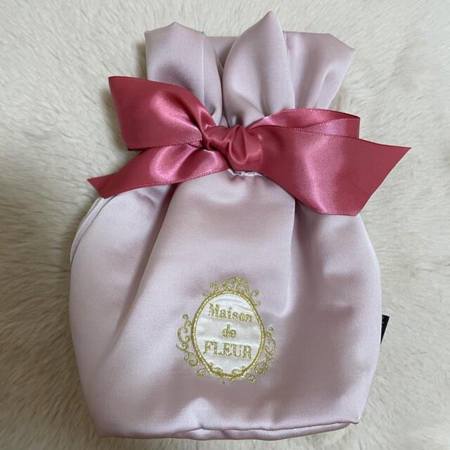 Maison de FLEUR(メゾンドフルール)の【ぽんた様専用】メゾンドフルールポーチ レディースのファッション小物(ポーチ)の商品写真