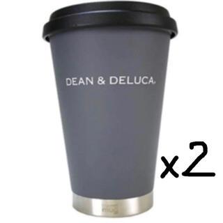 ディーンアンドデルーカ(DEAN & DELUCA)のDEAN&DELUCA サーモタンブラー グレー 2個セット(タンブラー)