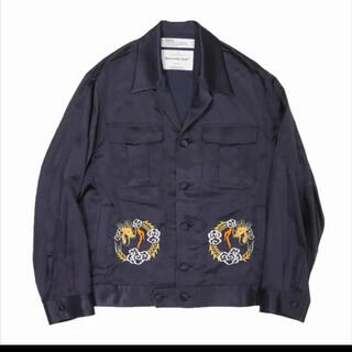 Jieda - 求DAIRIKU 20SS dragon embroidery souvenir