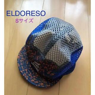 アールディーズ(aldies)の美品☆ELDRESO エルドレッソ ランニングキャップ メッシュ Sサイズ(ウェア)