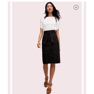 ケイトスペードニューヨーク(kate spade new york)の新品未使用 ケイトスペード ペンシルボタンスカート(ひざ丈スカート)