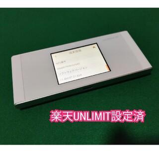 HUAWEI - 【楽天UN-LIMIT設定済】Speed Wi-Fi NEXT W05 au版