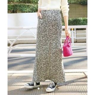 IENA SLOBE - スローブイエナ 小花柄マーメイドロングスカート