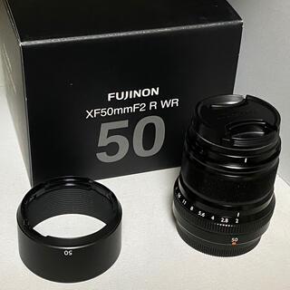 フジフイルム(富士フイルム)の【値下げ中】FUJIFILM XF 50mm F2 R WR(レンズ(単焦点))